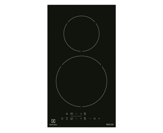 ELECTROLUX EHH3320NVK Indukcija plīts virsma, Iebūvēta, Melna