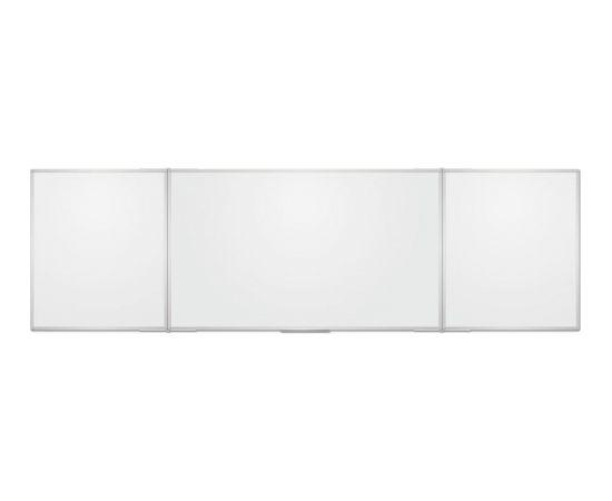 2X3 Balta magnētiska tāfele 180x120/360 trīsdaļīga