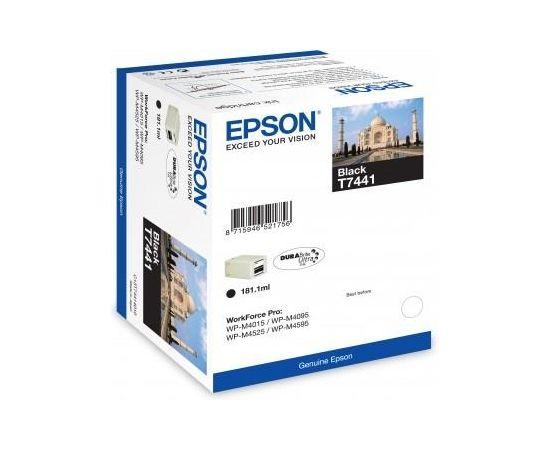 Ink Epson T7441 black DURABrite™ Ultra | 181ml | WP-M4015 DN/WP-M4525 DNF