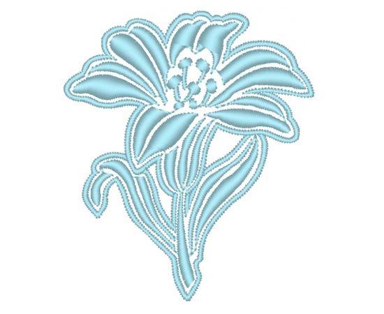 Brother Izšuvums RIŠELJĒ 92 zieds, augstums 79.60 mm, platums 68.70 mm,3560 dūrieni, 1kr