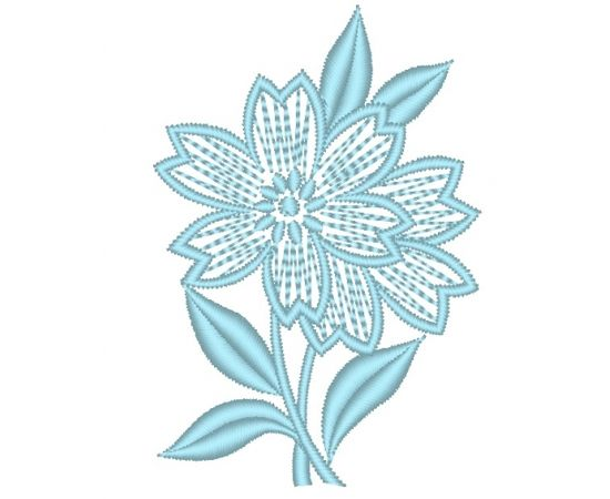 Brother Izšuvums RIŠELJĒ 93 zieds, augstums 81.60 mm, platums 55.60 mm,3220 dūrieni, 1kr