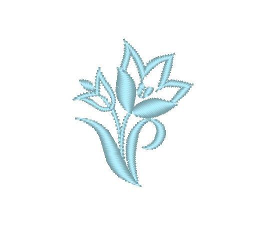 Brother Izšuvums RIŠELJĒ 88 zieds, augstums 40.60 mm, platums 33.20 mm,726 dūrieni, 1kr