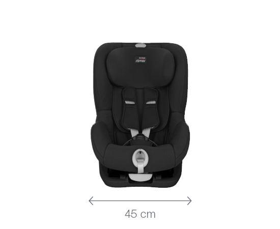 Britax - Romer BRITAX bērnu autokrēsls King Ii LS Black Marble BLS 2000025268