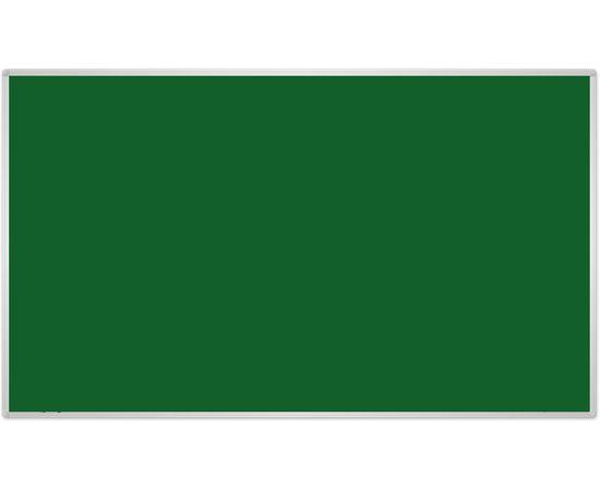 2X3 Tekstila tāfele ar alumīnija rāmī 180x120 Green