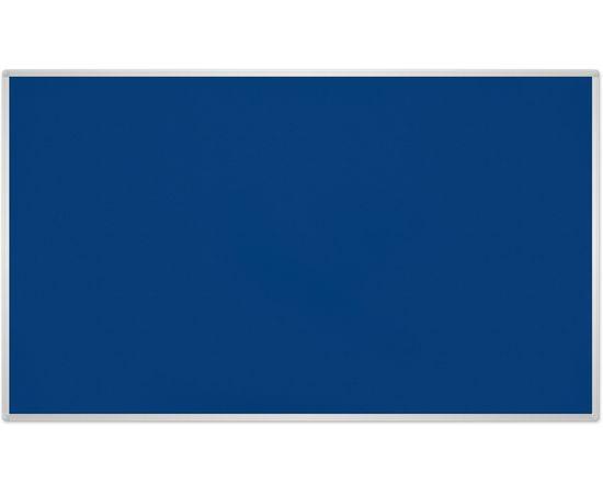 2X3 Tekstila tāfele ar alumīnija rāmī 120x90 Blue