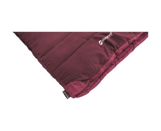 Outwell Champ Kids Deep Red, Sleeping Bag, 150 x 70 cm,  2 way open, L-shape, Red