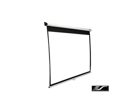 "Elite Screens Manual Series M100NWV1 Diagonal 100 "", 4:3, Viewable screen width (W) 203 cm, White"