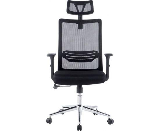 Techly Swivel biroja krēsls ar ventilējamu atzveltni un galvas balstu