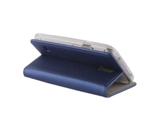 Forever Чехол-книжка с магнетической фиксацией без клипсы Xiaomi Redmi Note 4 Темно Синий