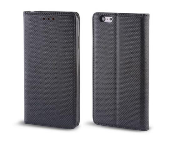Forever Magnēstikas Fiksācijas Sāniski atverams maks bez klipša LG G6 H870 / H871 Melns