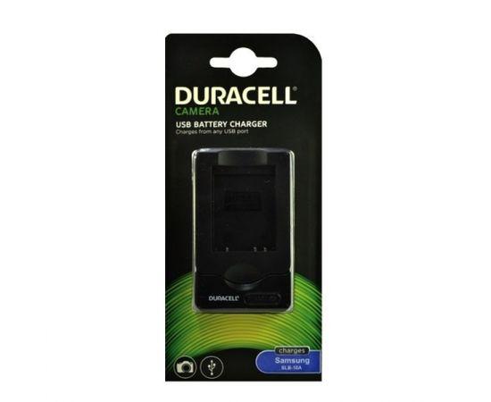 Duracell Analogs Samsung SBC-10A USB Lādētājs priekš L200 110 P1000 WB550 SLB-10A Akumulātora
