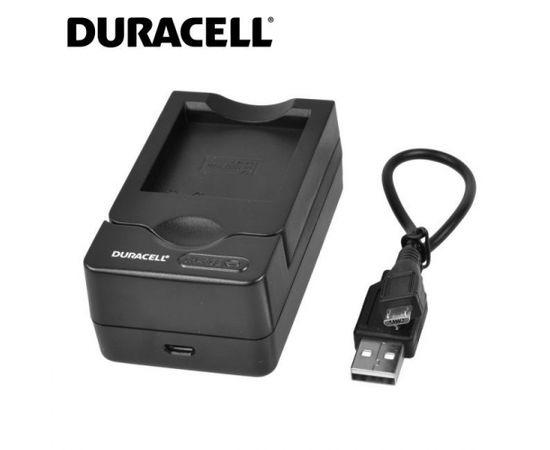 Duracell Analogs Panasonic DE-A12 USB Lādētājs priekš Lumix DMC-FX10 CGA-S005 CGA-S008 Akumulātora