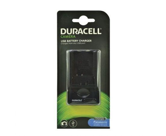 Duracell Аналог  Panasonic DE-A46 USB Зарядное устройство для Lumix DMC-TZ11 DMC-TZ15 CGA-S007 аккумуляторa