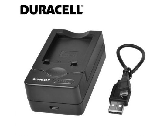 Duracell Analogs Panasonic DE-994 USB Lādētājs priekš CGA-S006 CGA-S007 DMW-BCA7 Akumulātora