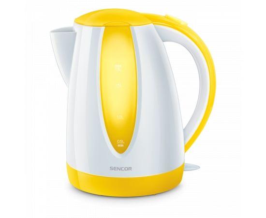 Sencor электрический чайник, 1.8L, жёлтый