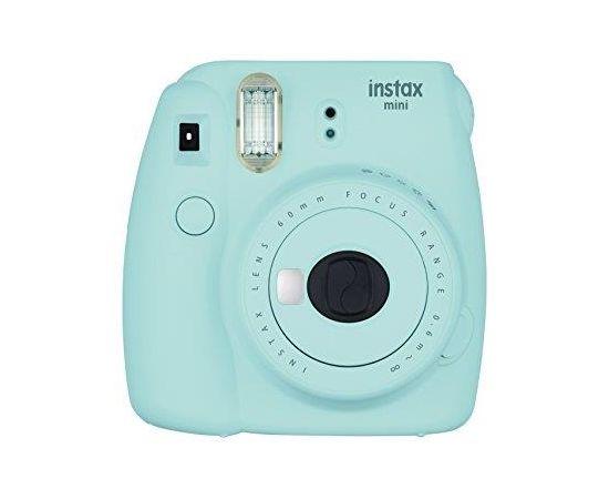 Fujifilm Instax Mini 9 camera + Instax mini glossy (10) Ice Blue