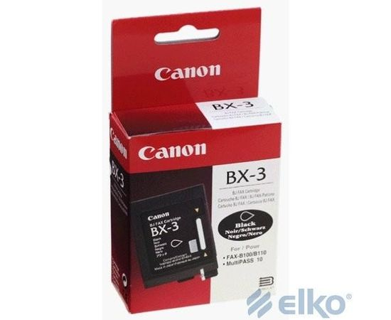 FAX CARTRIGE BX-3/0884A002 CANON