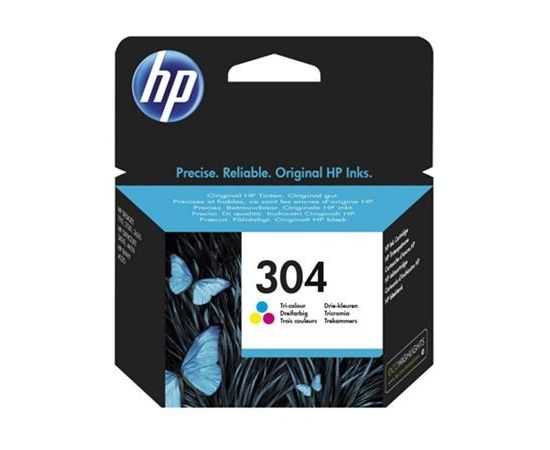 HP 304 Tri-color Ink Cartridge