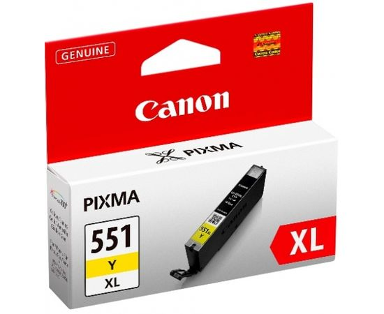CANON CLI-551XL Y ink yellow blister
