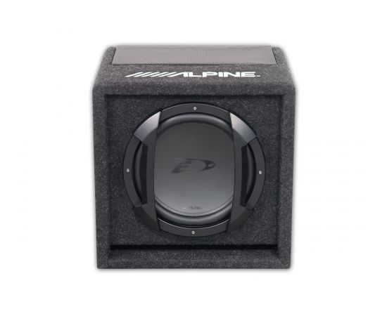 Alpine SWE-815 150W Powered Subwoofer Box