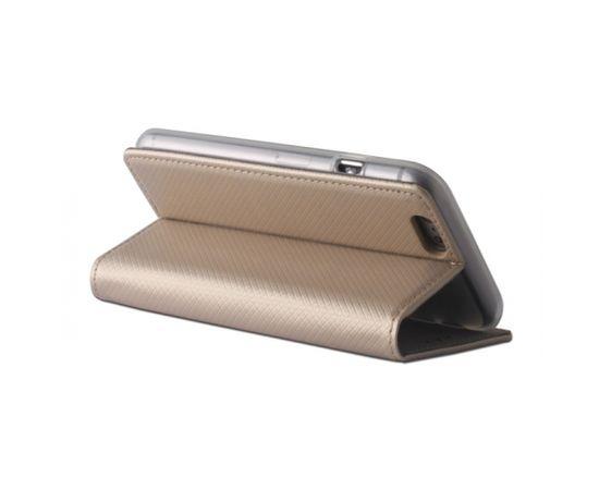 Forever Magnēstikas Fiksācijas Sāniski atverams maks bez klipša Sony Xperia XA1 Zeltains
