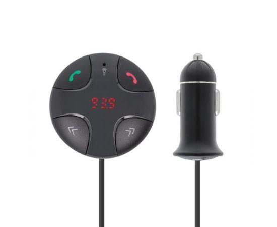 Forever TR-310 Bluetooth 3.0 FM Transmitter Priekš Auto Radio + Uzlādes Ligzda USB 2.1A Melns