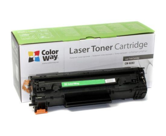 ColorWay Toner Cartridge, Black, HP CF283A