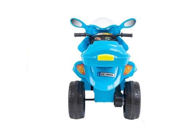 """Elektriskais motocikls ar bagāžnieku """"Ctrike"""", gaiši zils"""