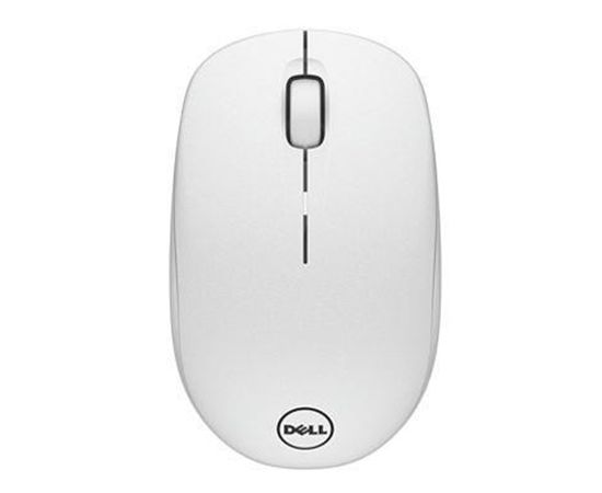 Dell WM126 wireless, White, Optical mouse