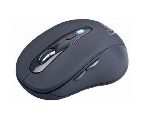 Gembird MUSWB2 Optical Bluetooth mouse, Wireless connection, 6 button, Black, Grey