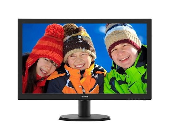 "Philips 273V5LHAB/00 27 "", FHD, 1920 x 1080 pixels, 16:9, TFT, 1 ms, 300 cd/m², Black, VGA, Audio, Power"