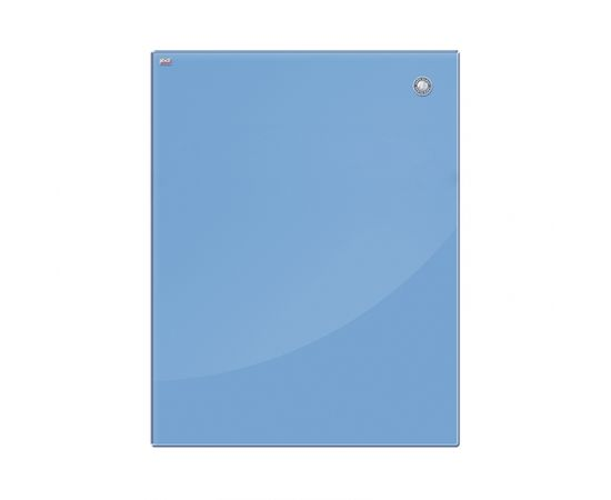Magnētiskā stikla tāfele 2x3 45 x 45 cm, zila (TSZ4545 N)