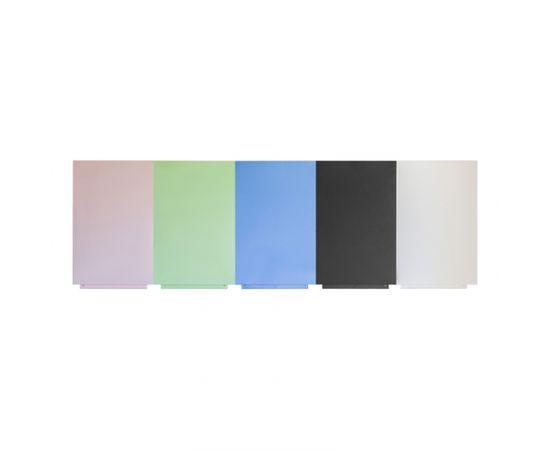 Magnētiskā krīta tāfele ROCADA Skin Green, 100 x 150 cm, zaļā krāsa