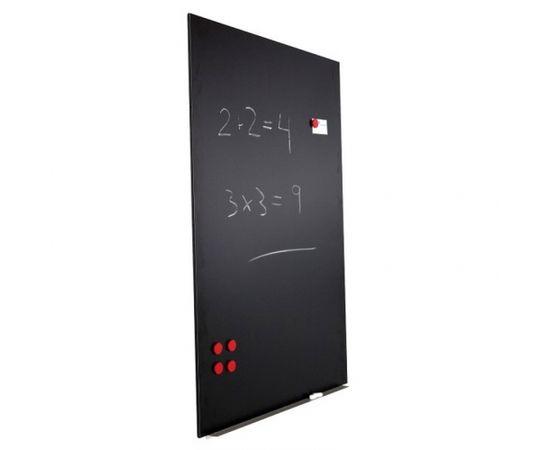 Tāfeles panelis ROCADA SkinChalkBoard, 75 x 115 cm, melns