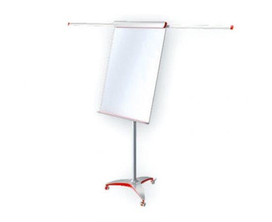 Tāfele ar statīvu 2x3 Mobilechart Pro Red, 100 x 70 cm