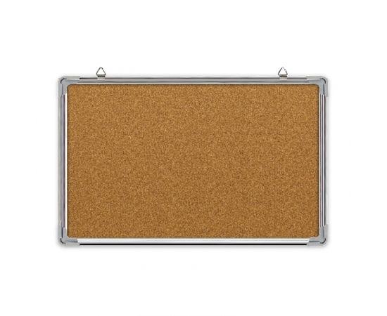 Korķa tāfele FORPUS alumīnija rāmī, 60 x 90 cm