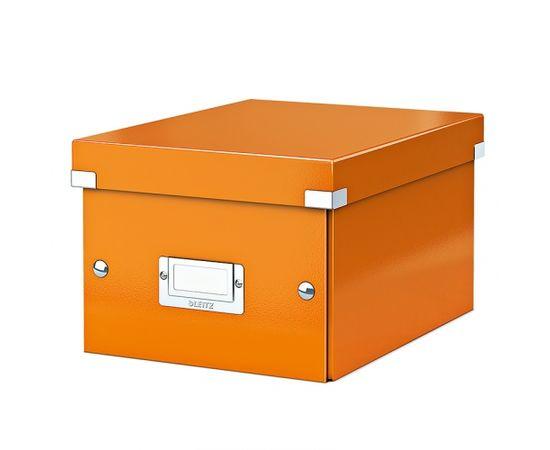 Esselte Arhīva kārba LEITZ CLICK'N'STORE WOW, A5, oranžā krāsa