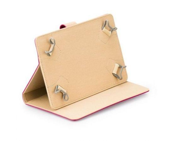 """Blun High-Line Универсальный Эко кожанный чехол-книжка со стендом Tablet PC до 7\"""" дисплеем Розовый"""