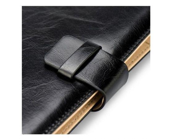 """Blun High-Line Универсальный Эко кожанный чехол-книжка со стендом Tablet PC до 7\"""" дисплеем Черный"""