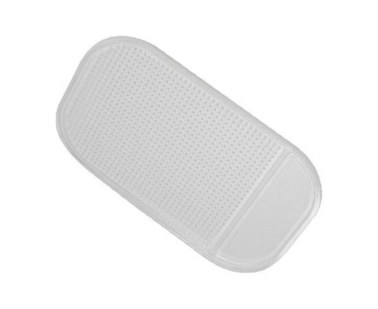 Forever Nano Anti Slīdēšanas Lipīgs Paliktnis Mobīlajiem Telefonien 14x9 cm Caurspīdīgs